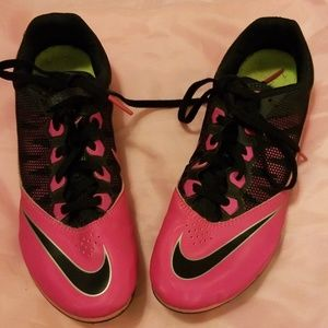 Nike Racing Rival S Sprint Shoe Pink and Black